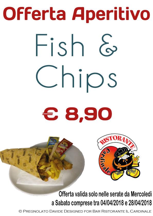 Aperitivo e Fish & Chips